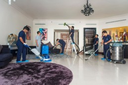 Image showing AC duct cleaning, carpet cleaning, upholstery cleaning and hard floor cleaning